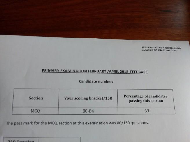 mcq feedback