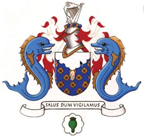 College-of-Anaesthetists Ireland coat of arms